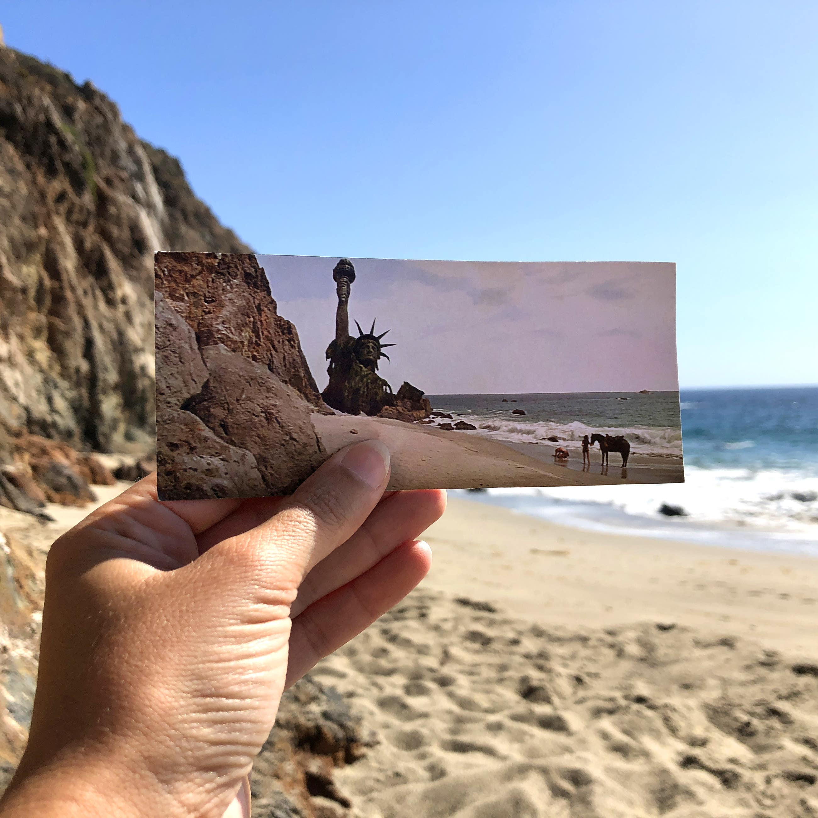 Planet of the Apes Malibu Bay Point Dume filmtourismus