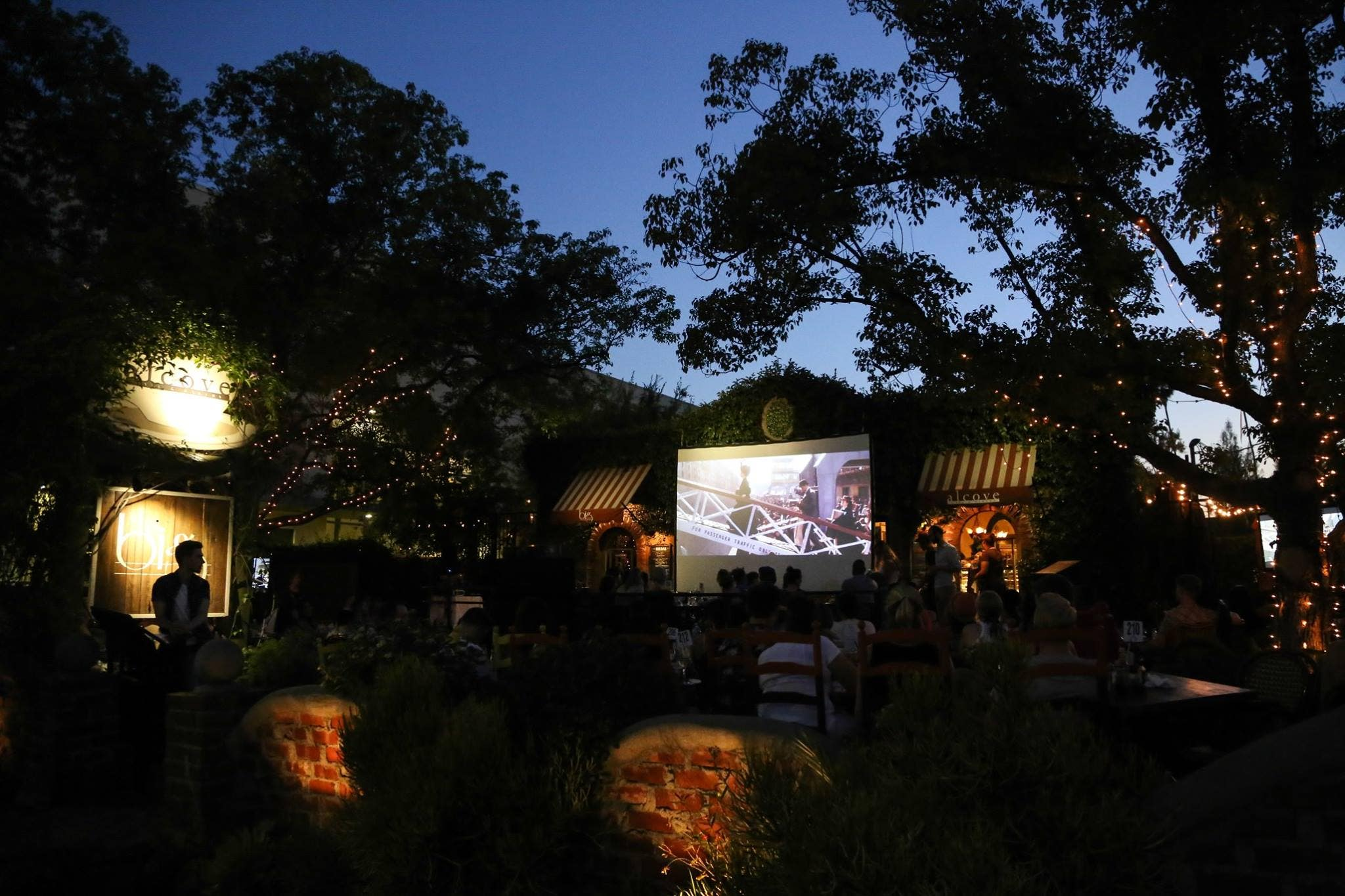 Dinner and a Movie at Big Bar   Photo: Eugene Lee
