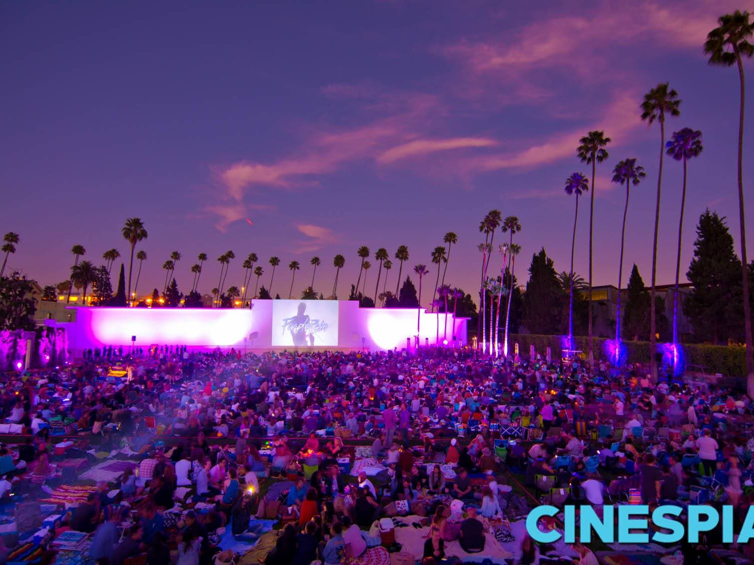"""Purple Rain"" at Cinespia"