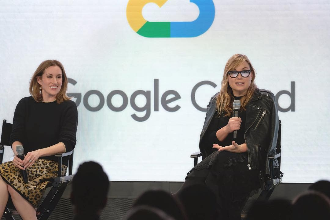 Clique Brands founders Katherine Power and Hillary Kerr