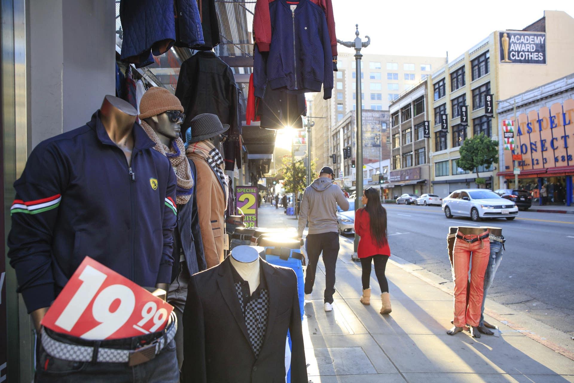 Fashion District Los Angeles