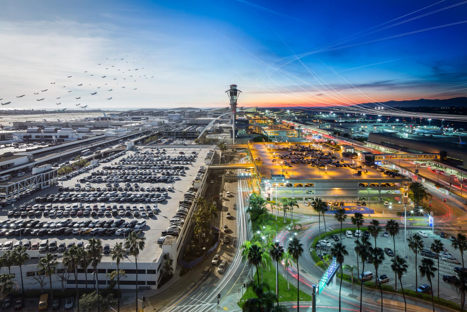 """LAX From Daylight Into Darkness"" 