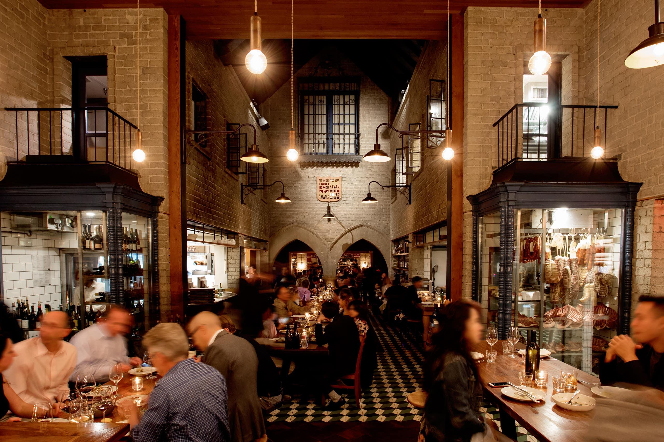 Dining room at Republique
