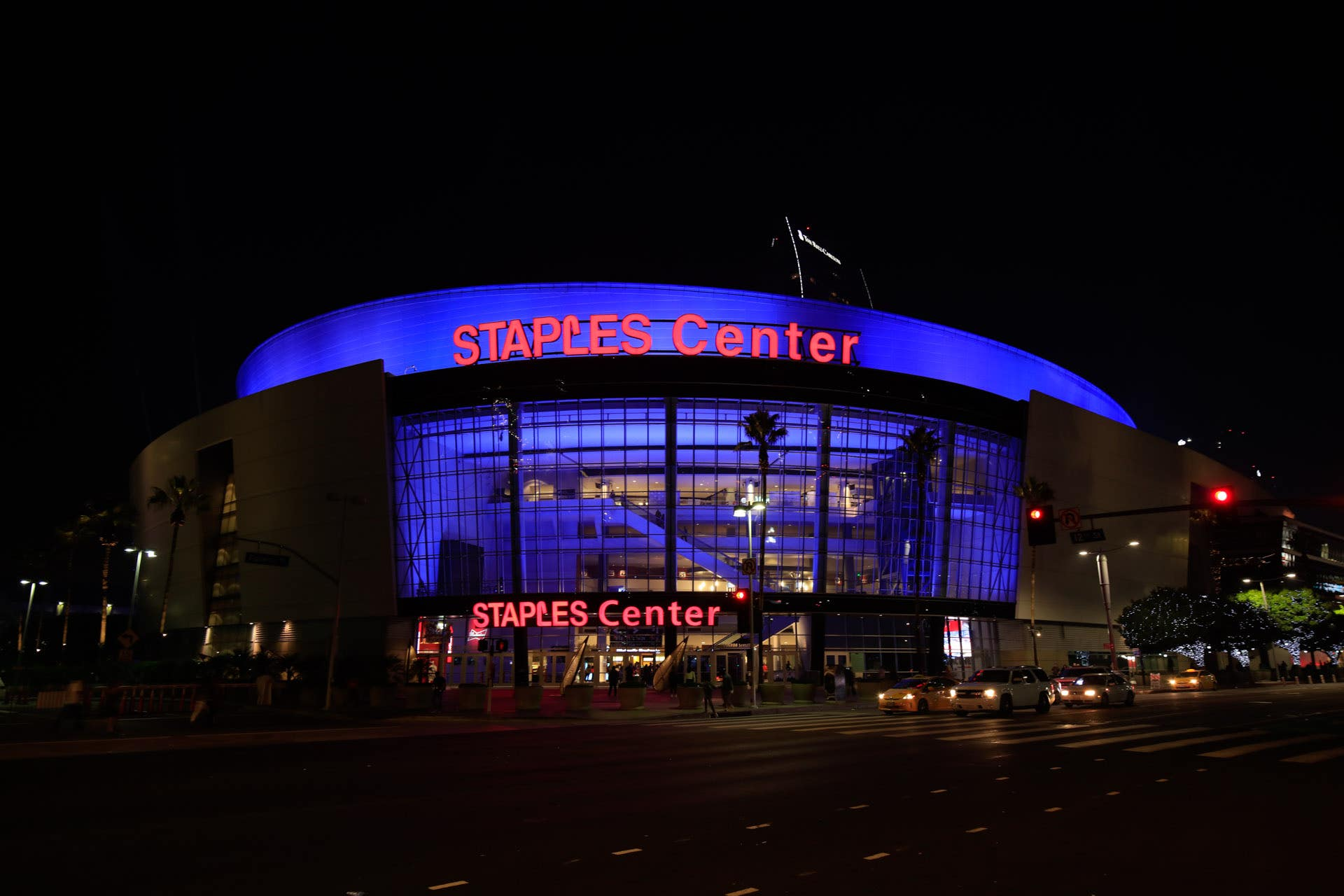 STAPLES Center Night