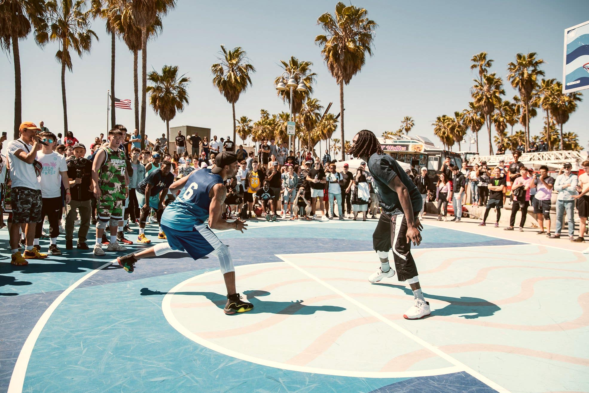 Venice Basketball League in Venice Beach