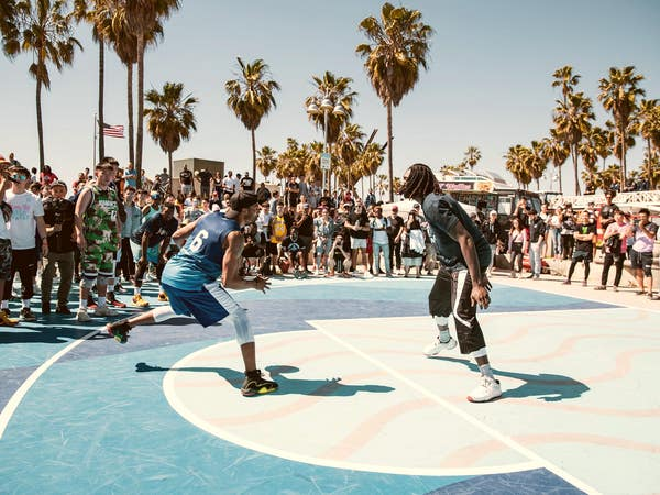 Venice Basketball League in Venice Beach