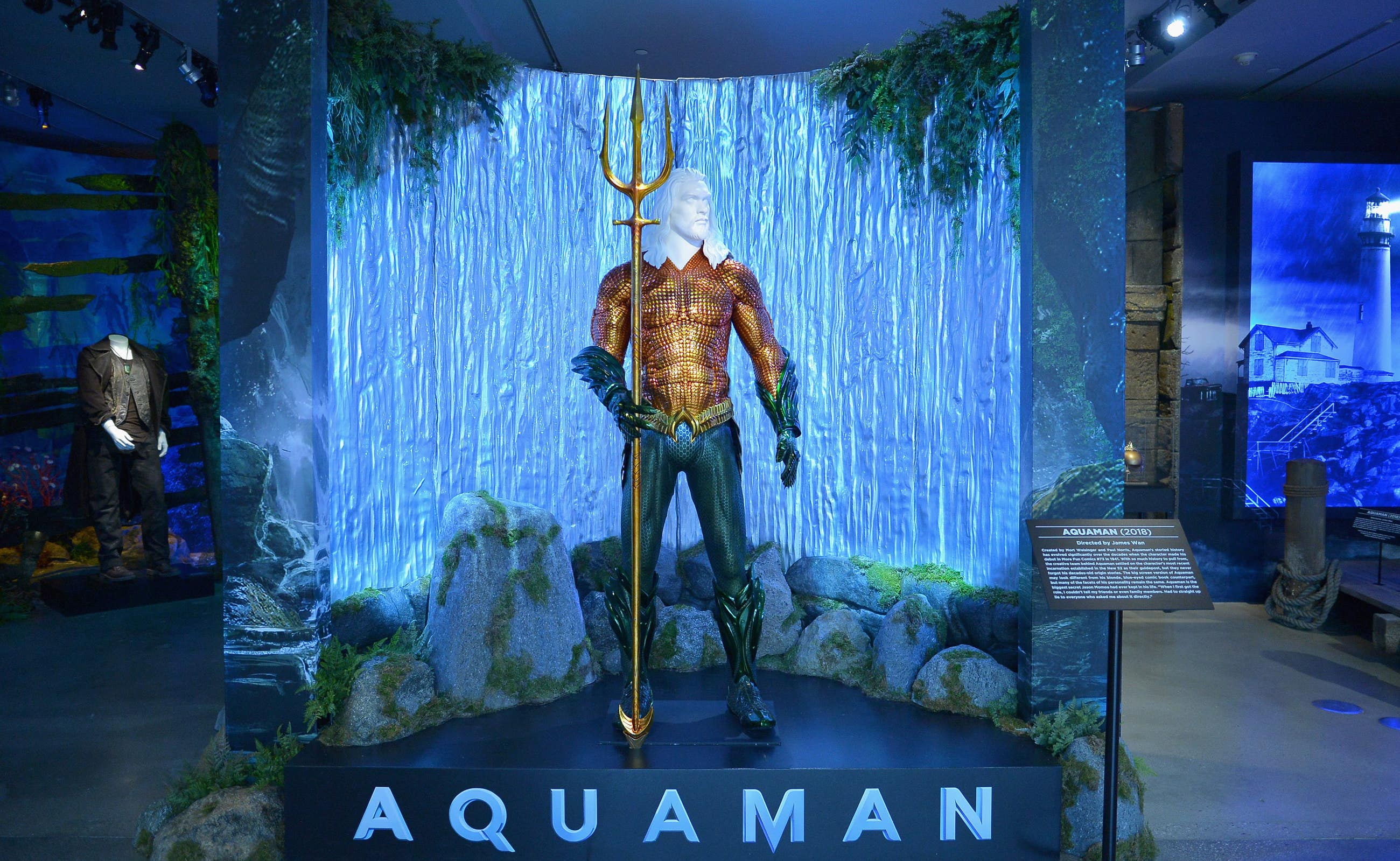 Aquaman exhibit | Photo: Warner Bros. Studio Tour Hollywood