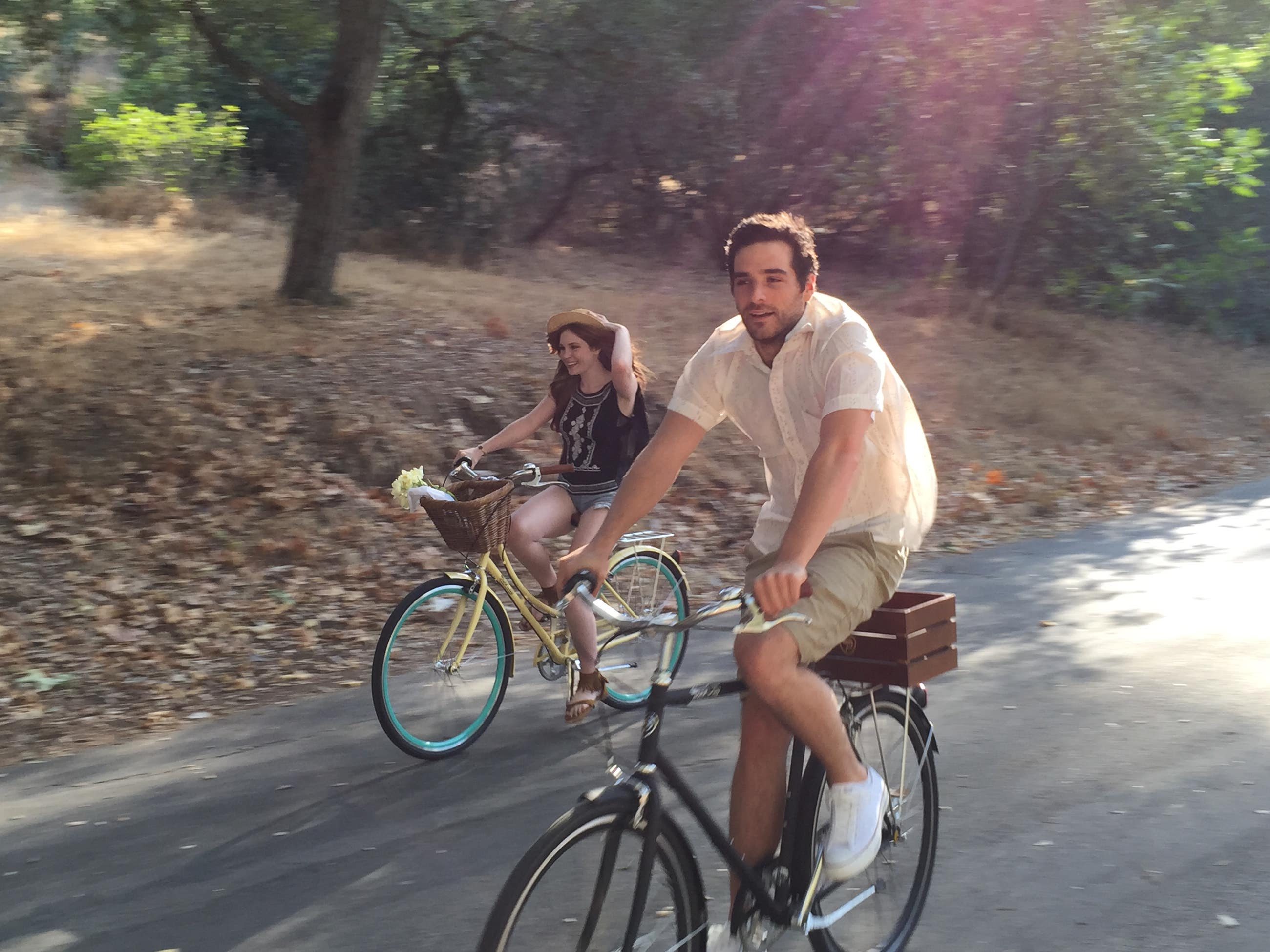 Biking Crystal Springs Drive in Griffith Park   |  Photo: Joshua Johnson