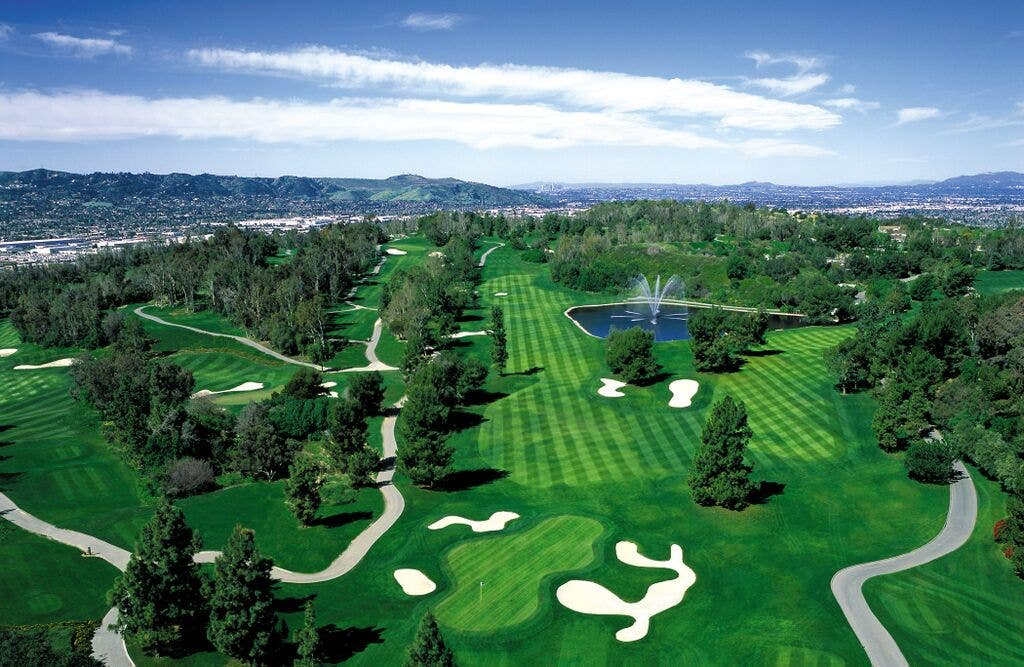 Industry Hills Golf Club Aerial View