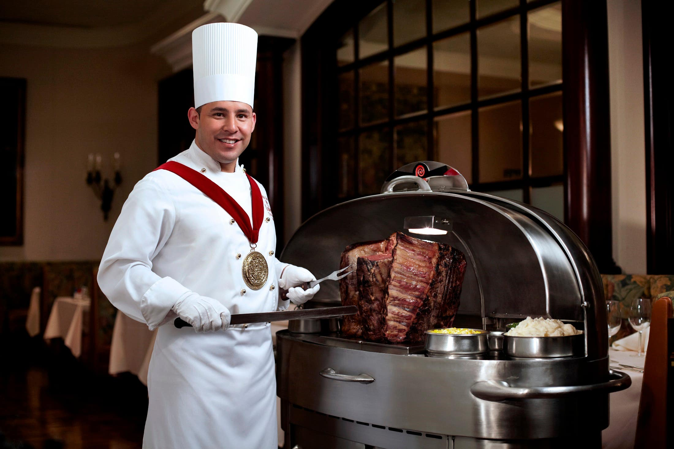 Lawry's The Prime Rib Carver and Cart
