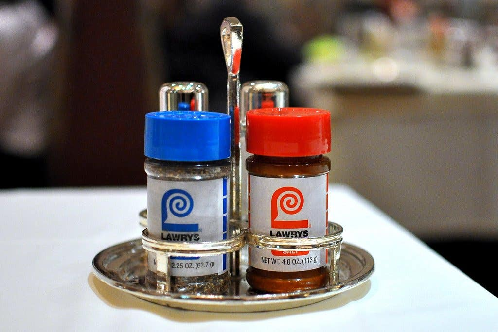 Lawry's The Prime Rib Seasoned Salt & Pepper