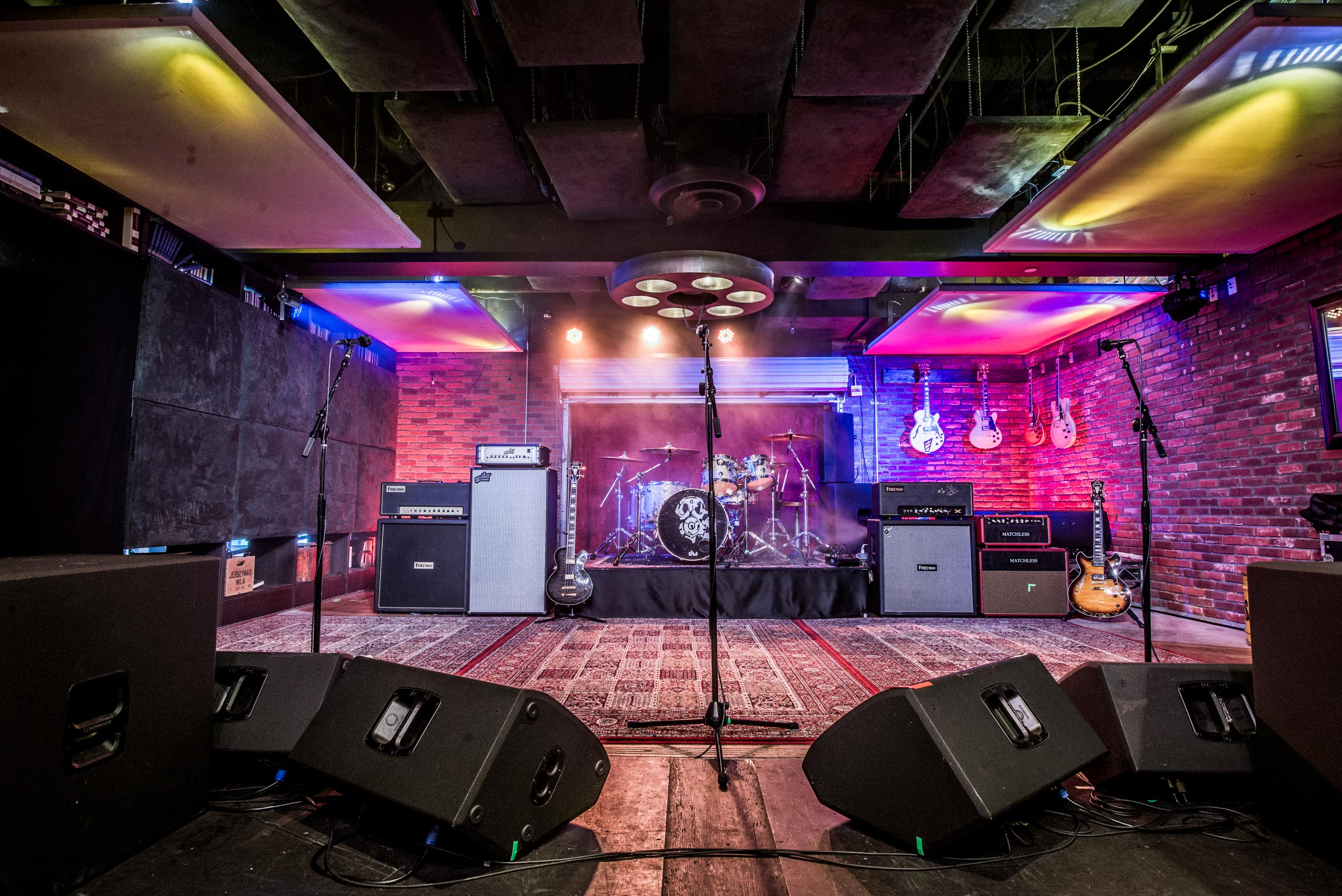 Lucky Strike Live Performance Stage
