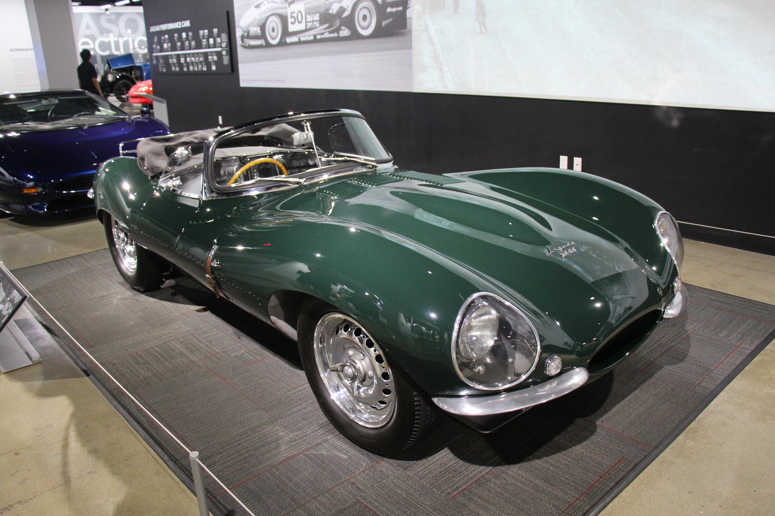 Steve McQueen's 1956 Jaguar XKSS | Petersen Automotive Museum
