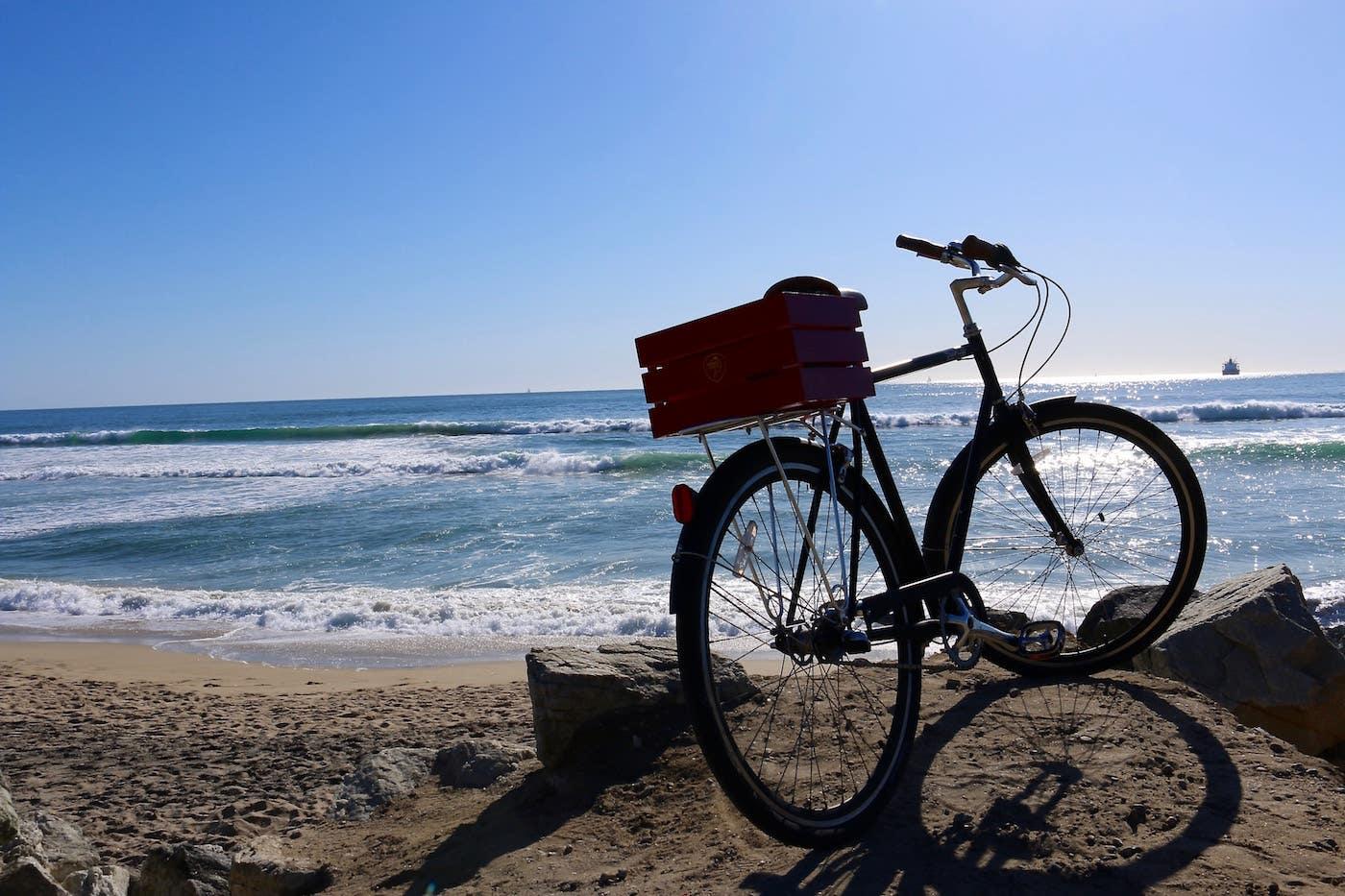 El Porto Beach bike