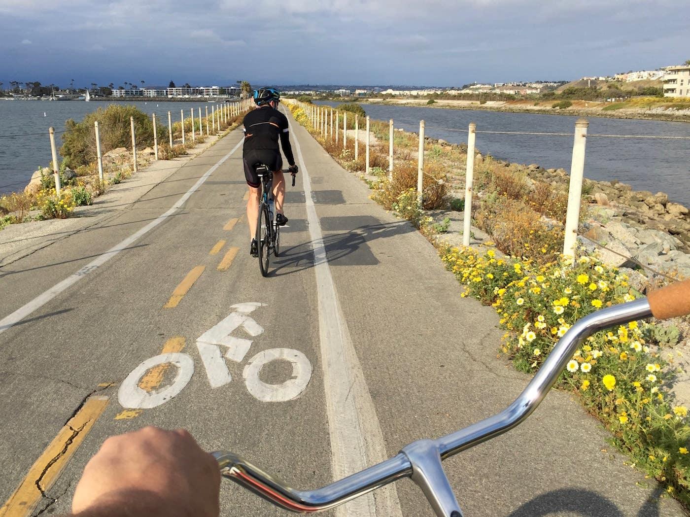 Marvin Braude Bike Trail in Playa del Rey