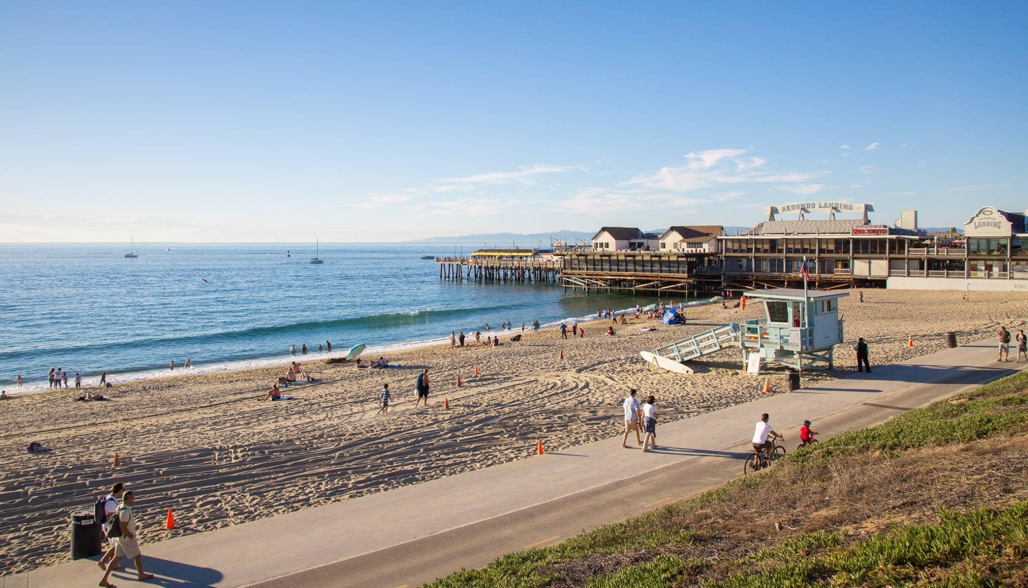 The Strand at Redondo Beach Pier