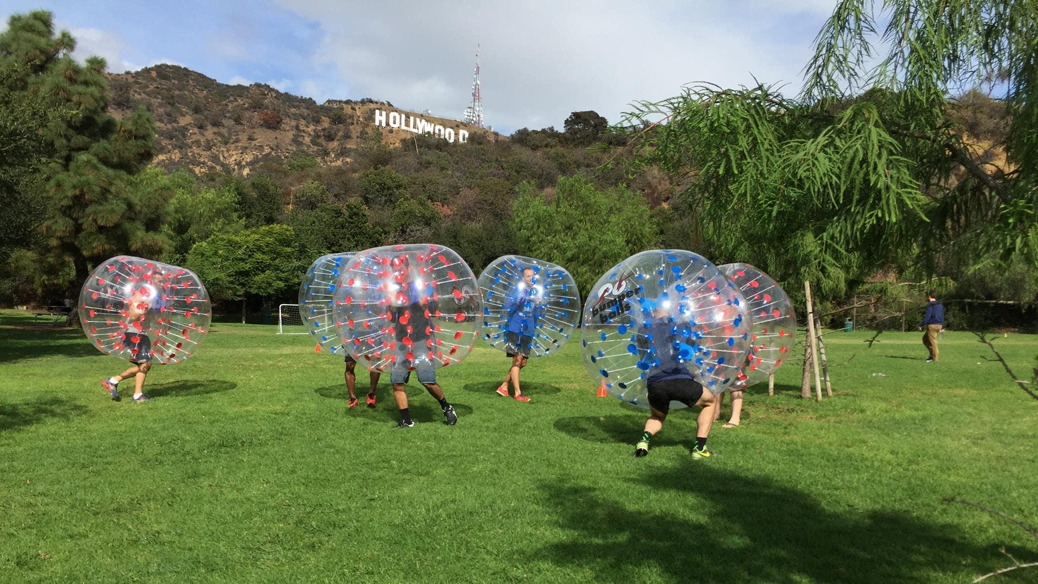 Bumper Balls at Lake Hollywood Park