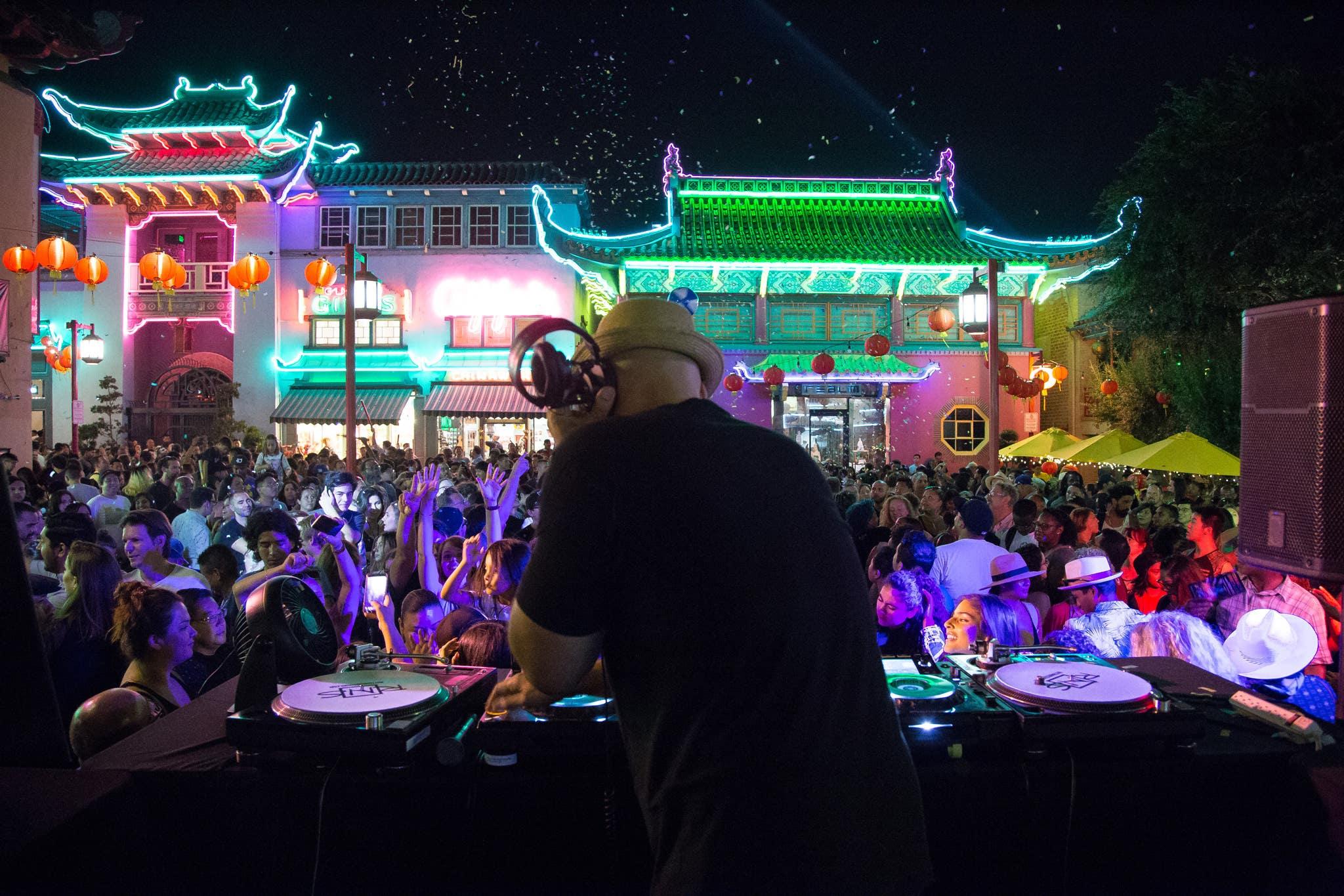KCRW Summer Nights at Chinatown Central Plaza