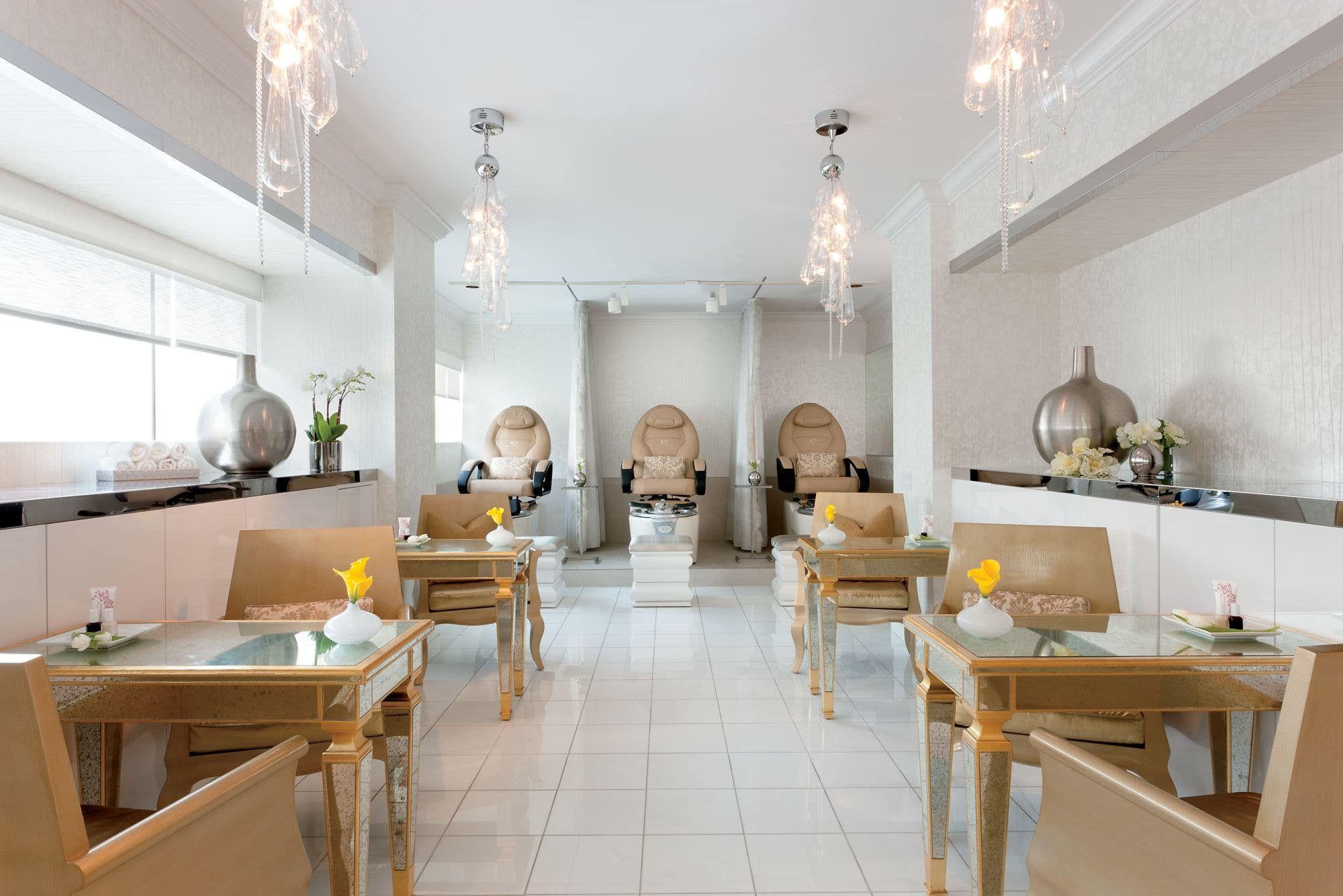 The Ritz-Carlton Los Angeles Spa Mani Pedi