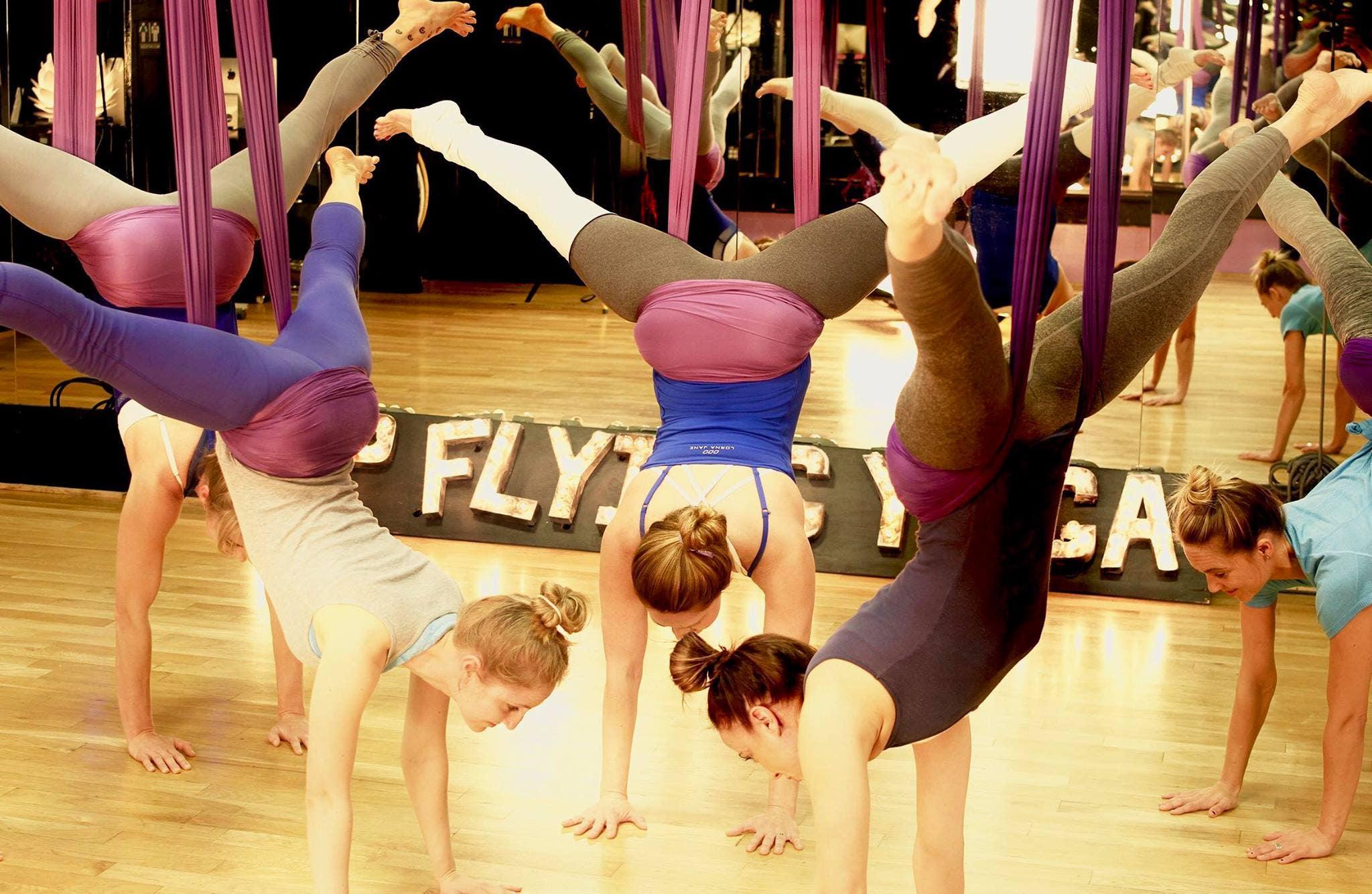 Up Flying Yoga in Studio City