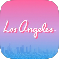 LA travel meeting app icon