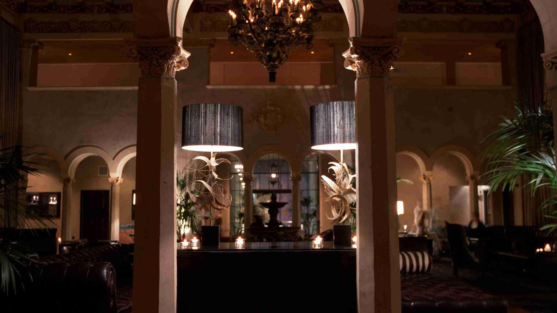 Historic Lobby at Hollywood Roosevelt