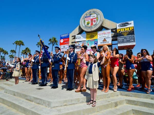Muscle Beach Venice July 4th