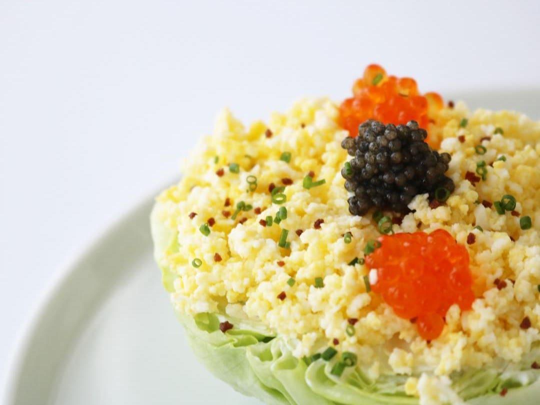 Wedge Salad at Petrossian West Hollywood | Photo: @petrossianwesthollywood, Instagram