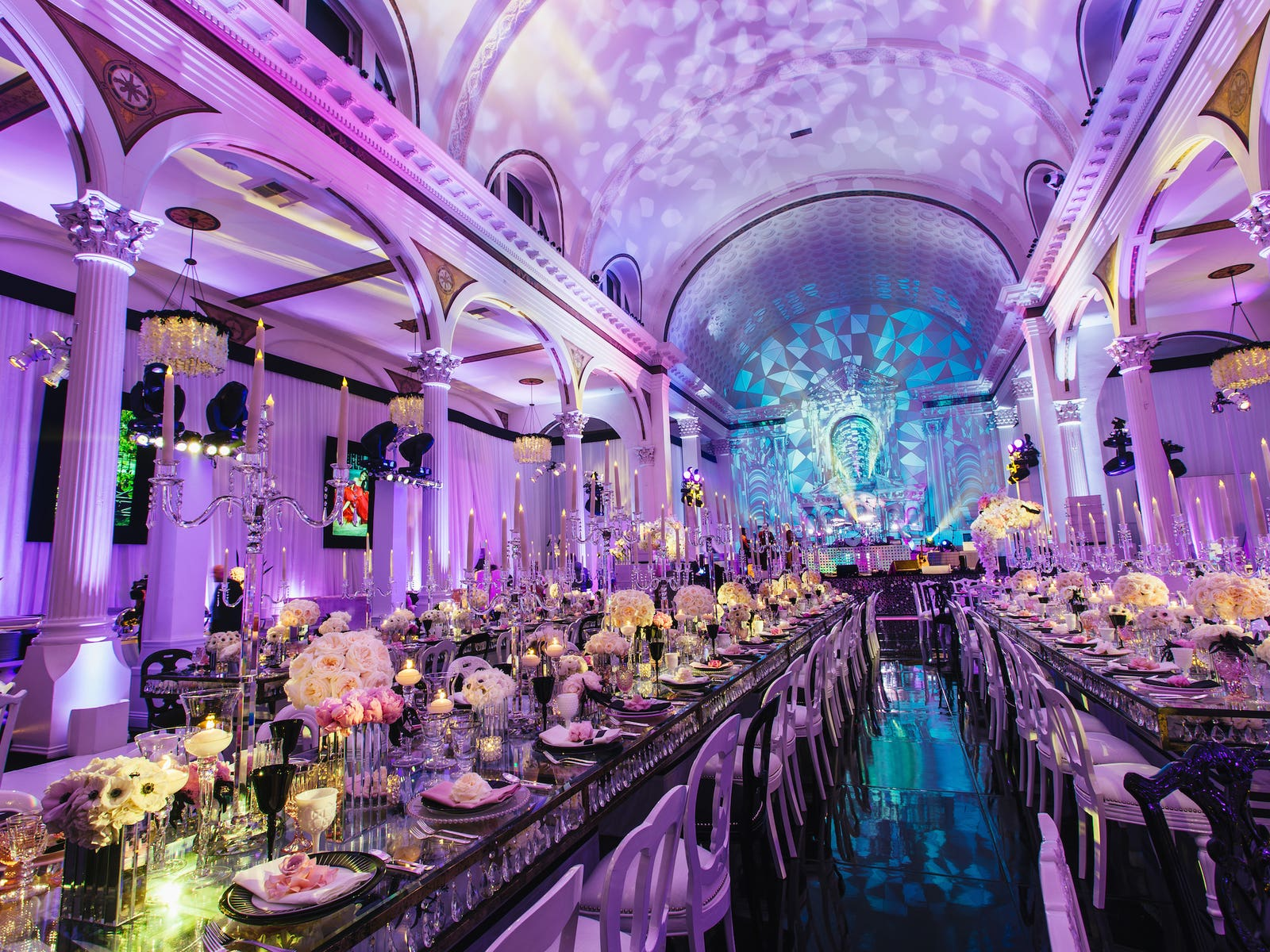 Wedding reception at Vibiana by Revelry Event Design