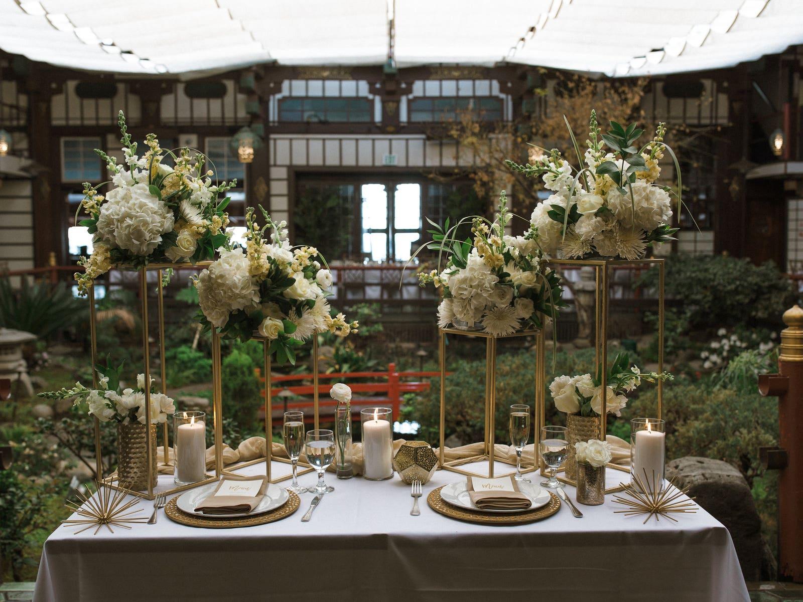 Yamashiro wedding reception