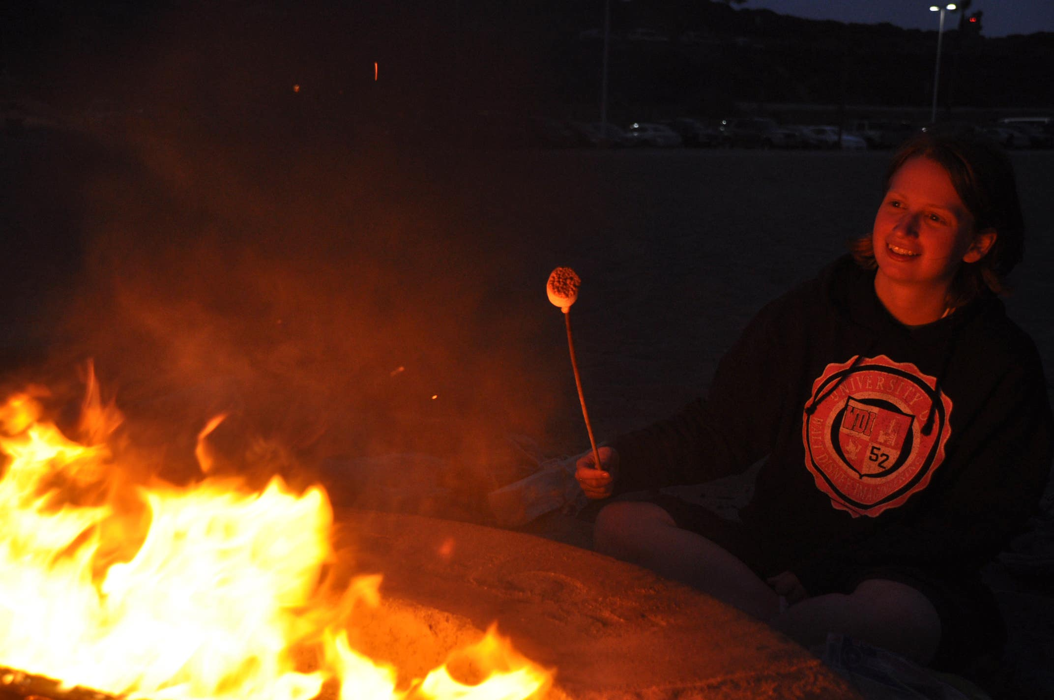 S'mores at Dockweiler State Beach | Photo: Clinton Steeds, Flickr
