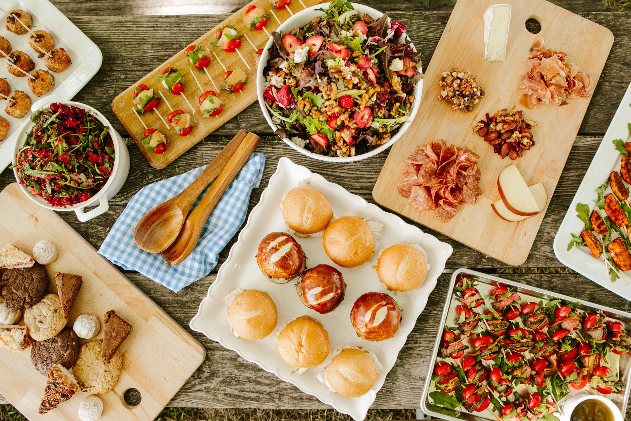 Mendocino Farms Social Catering Picnic