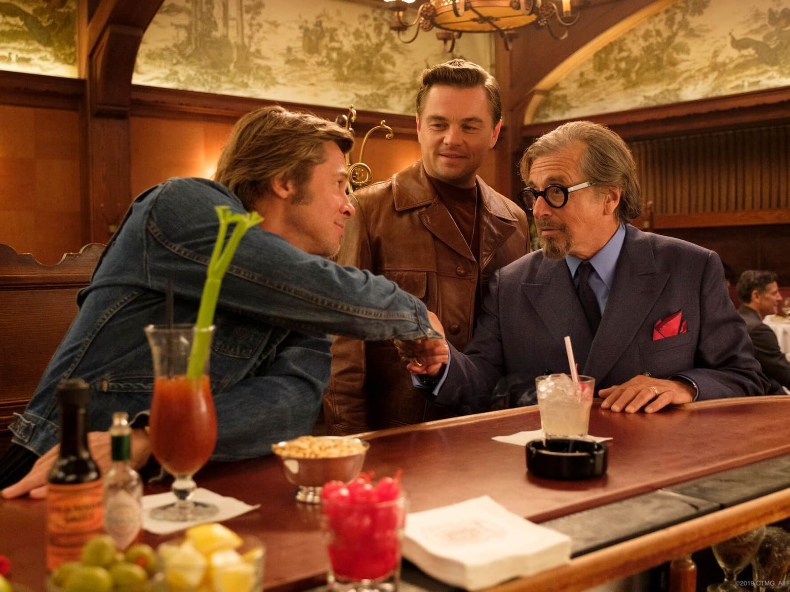 Musso & Frank Grill in Once Upon a Time in Hollywood