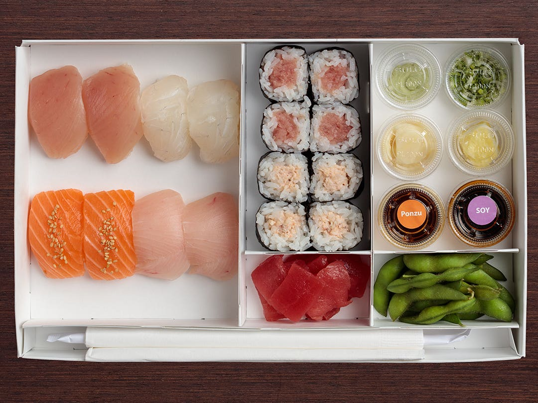 "To-Go ""Trust Me"" at SUGARFISH by Sushi Nozawa"