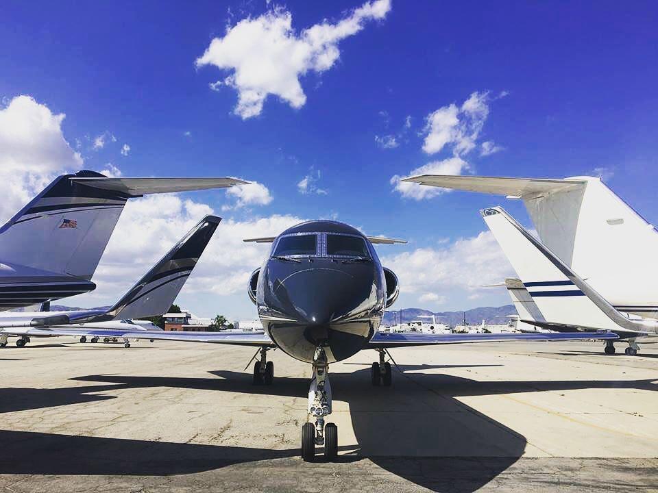 Gulfstream IV at Van Nuys Airport