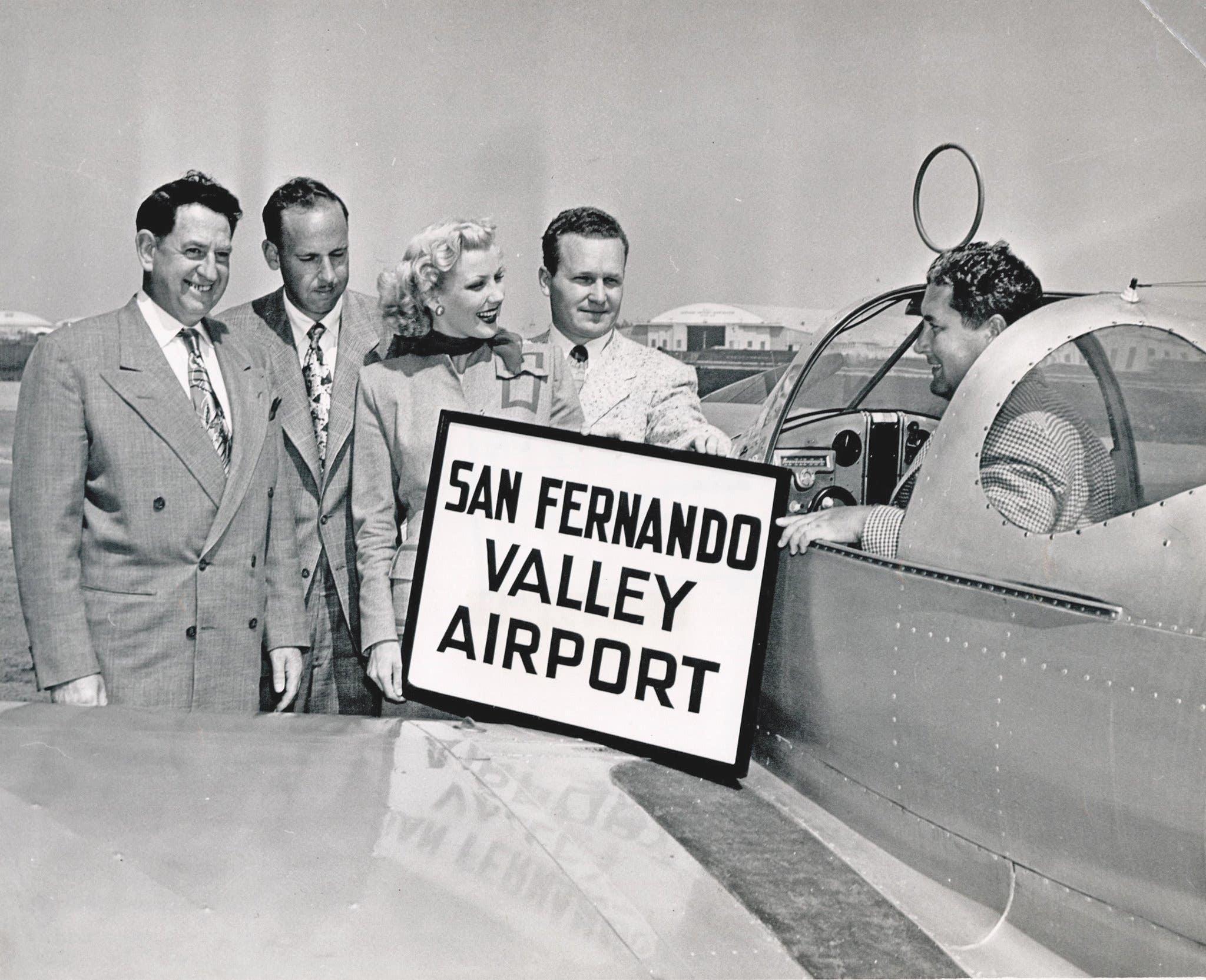 Metropolitan Airport is renamed San Fernando Valley Airport