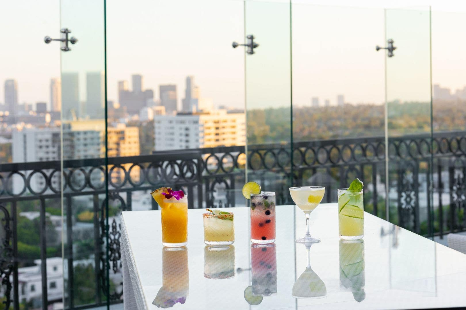 Cocktails at the West End Roof Top, The London West Hollywood