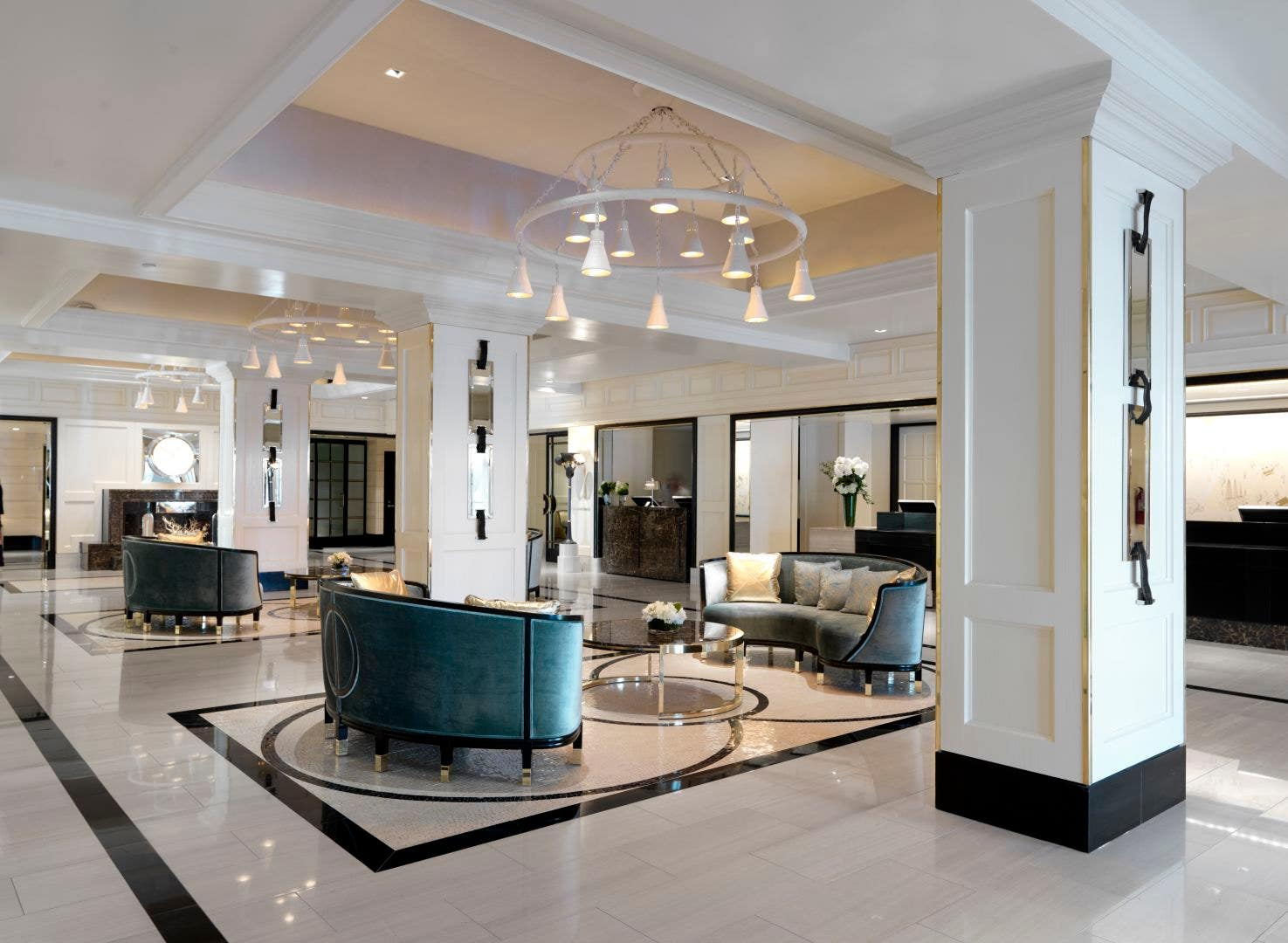 Lobby of The London West Hollywood at Beverly Hills
