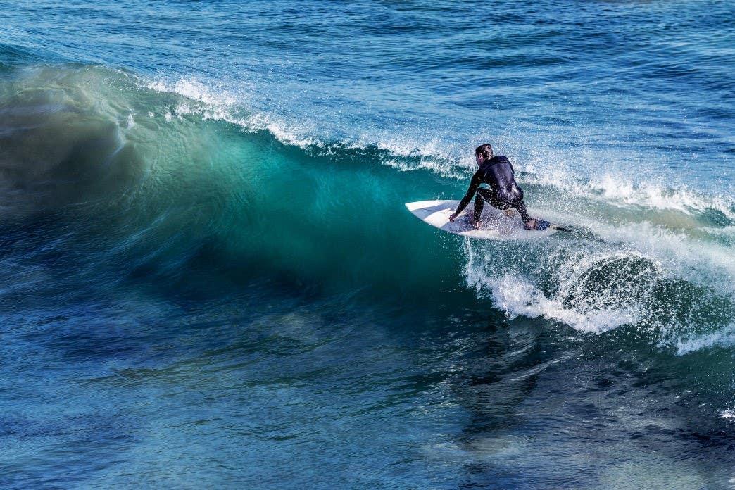 Surfrider Beach in Malibu