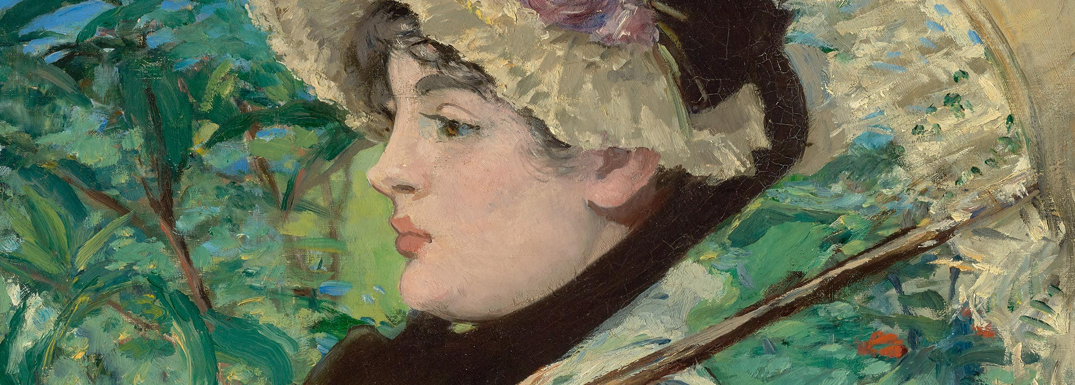 """""""Jeanne (Spring)"""" by Édouard Manet at the Getty Center"""