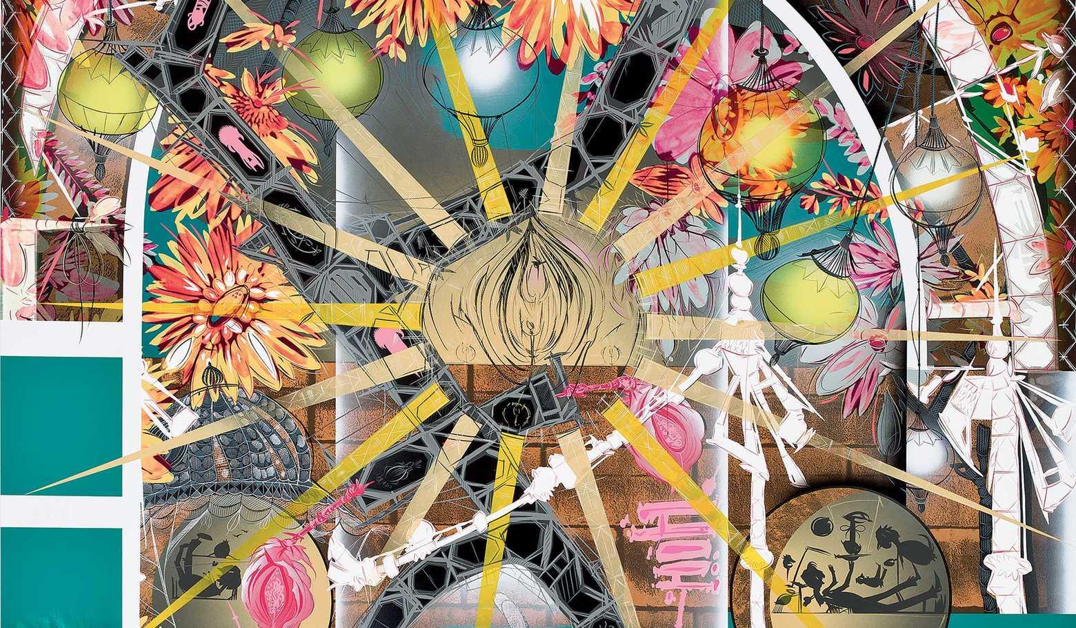 "Lari Pittman ""Untitled #5"" at the Hammer Museum"