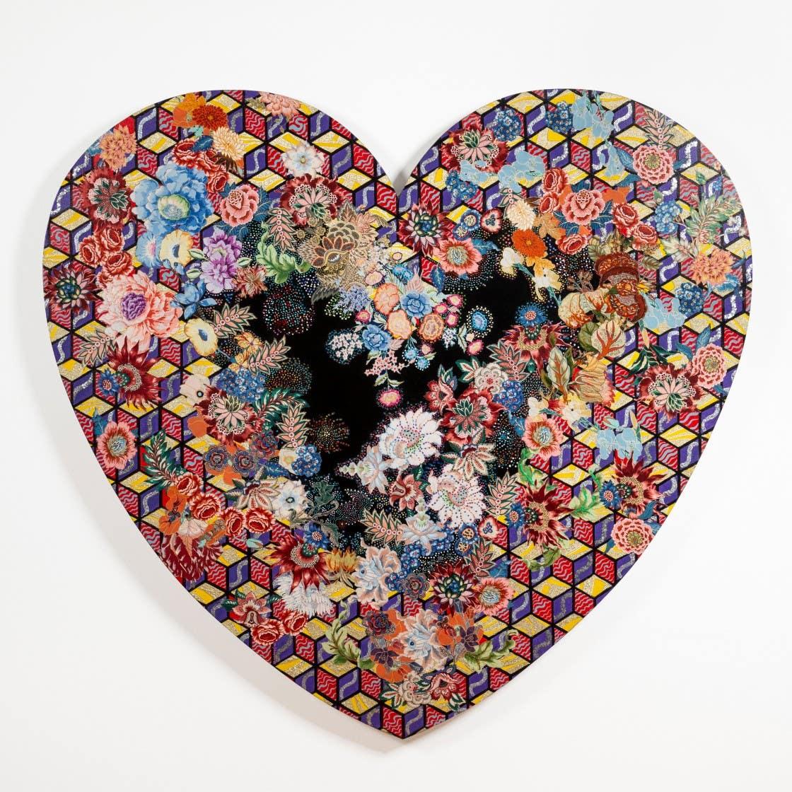 "Miriam Schapiro ""Heartland"" on view at MOCA"
