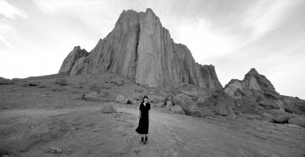 """Shirin Neshat, """"Land of Dreams"""" video still (2019)"""