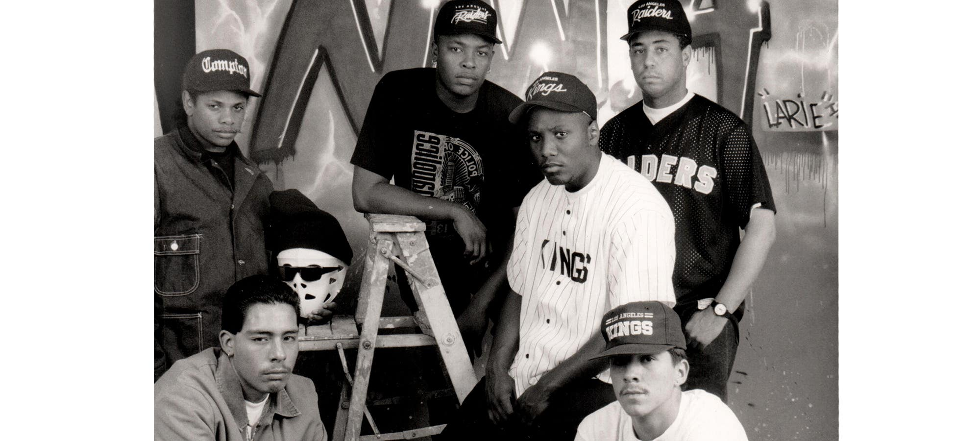 NWA by George Rodriguez at the Vincent Price Art Museum in Monterey Park