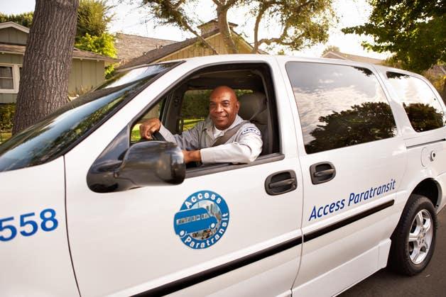 Access Services Paratransit Van