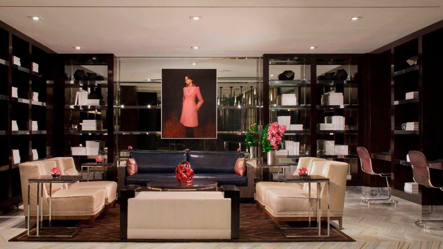 The Library at Beverly Hills Marriott