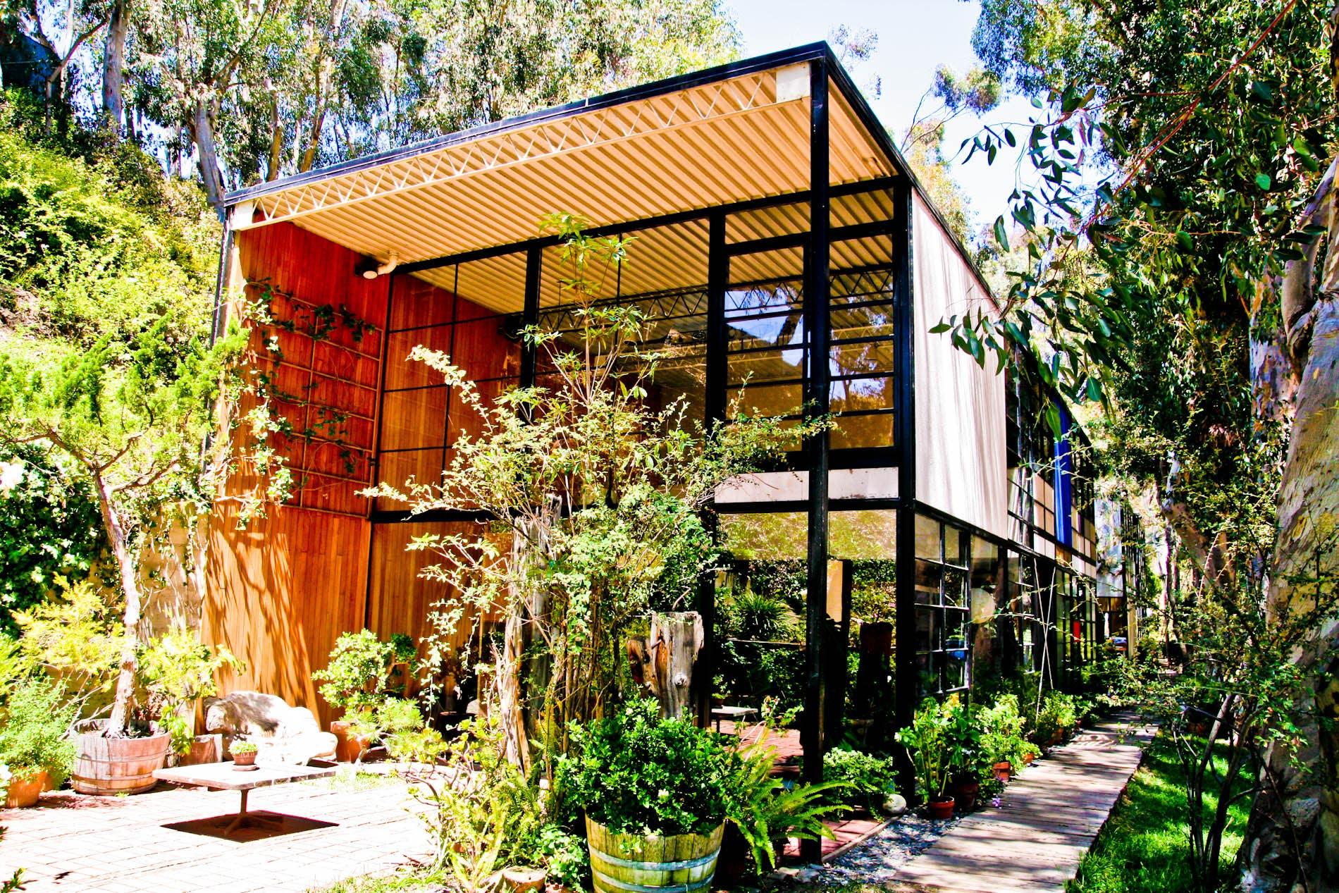 Eames House exterior