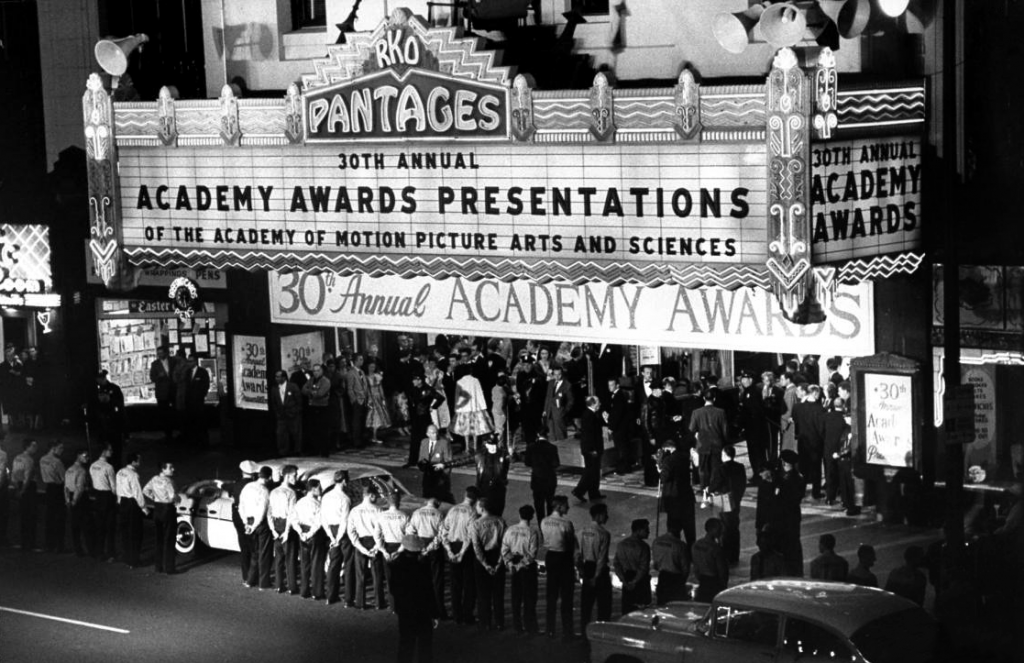 30th Academy Awards at the RKO Pantages (Hollywood Pantages) in 1958