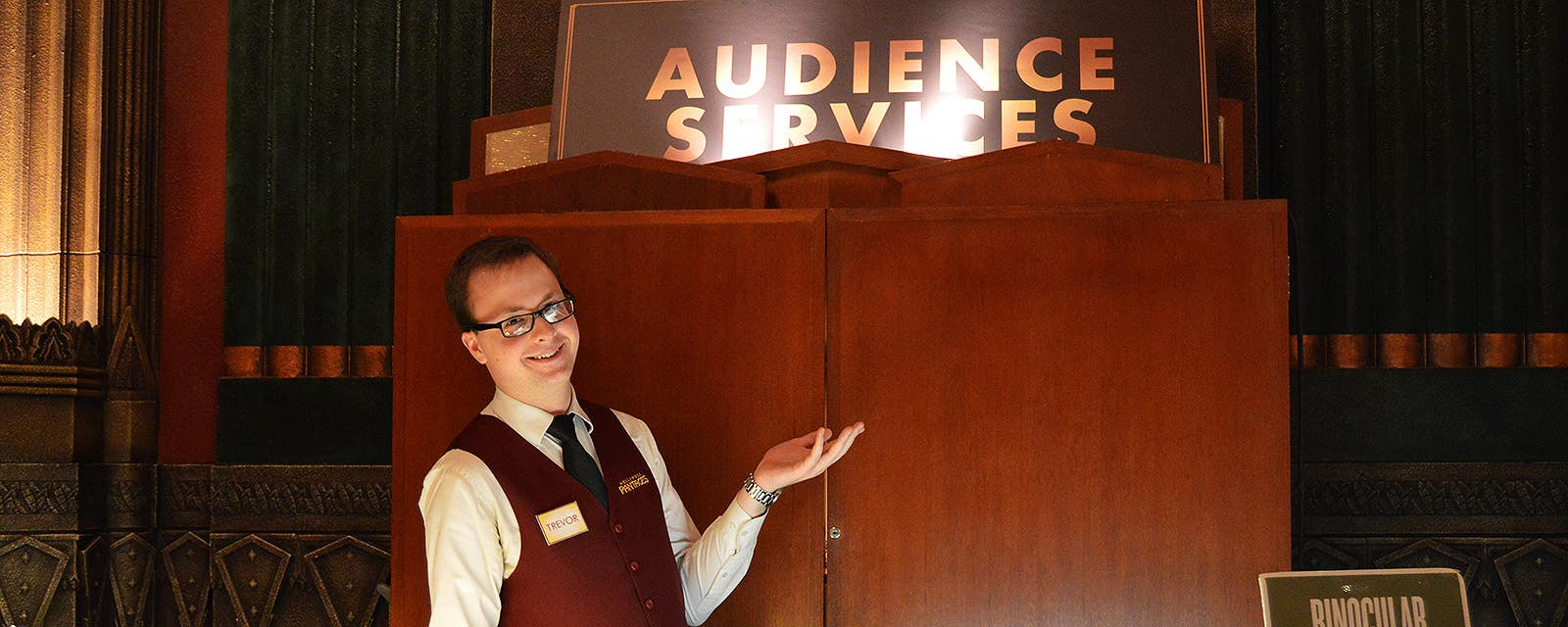 Audience Services at Hollywood Pantages
