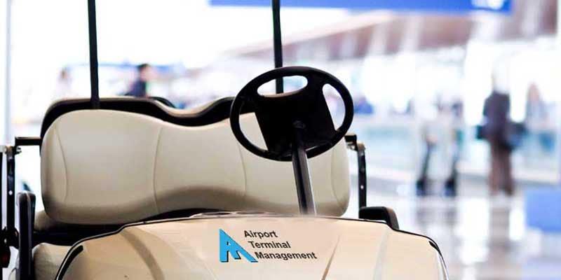 Airport Terminal Management cart at LAX